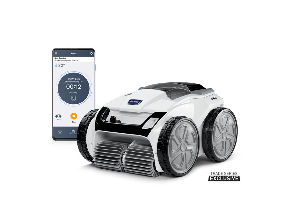 Polaris VRX iQ+ Product Image with Phone