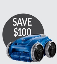 Save $100 on the Polaris 9450 Sport Robotic Pool Cleaner