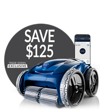 Save $100 on the Polaris 9650iQ Robotic Pool Cleaner